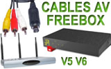 Cables Freebox