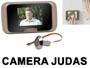 kit oeil de boeuf Judas électronique de porte avec écran LCD et caméra oeilleton (version sans percage)