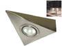 Spot triangle 12v G4 pour plan de travail de cuisine fixation sous meuble haut sans interrupteur ( sans ampoule )