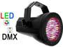 Projecteur PAR36 eco 76 LED R+V+B DMX Velleman