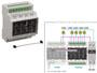Boitier d'extension 8 relais en coffret RAIL DIN pour VM208