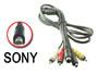 Cordon cable Sony audio stéréo + vidéo + Svidéo fiche VMC-15FS pour camescope L=1,5m